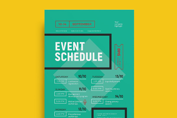 27+ Event Poster Templates - Free  Premium Download