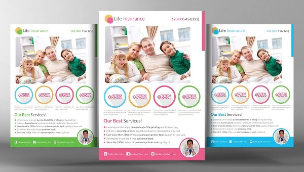 25+ Insurance Flyer Templates - Free  Premium Download - insurance flyer templates