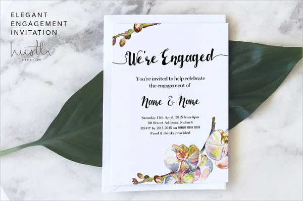 Engagement Invitation Templates - 18+ PSD, AI, EPS, Vector Format