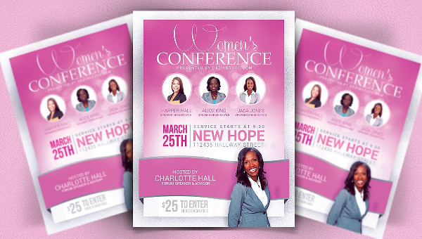 Conference Flyer Template - 29+ Free  Premium Download