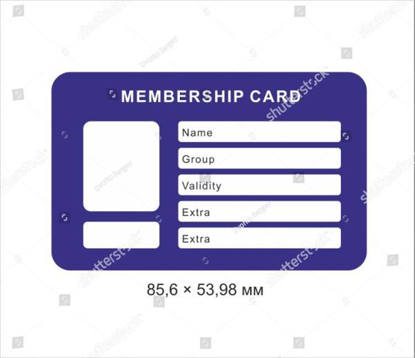 23+ Membership Card Templates - Free  Premium Download