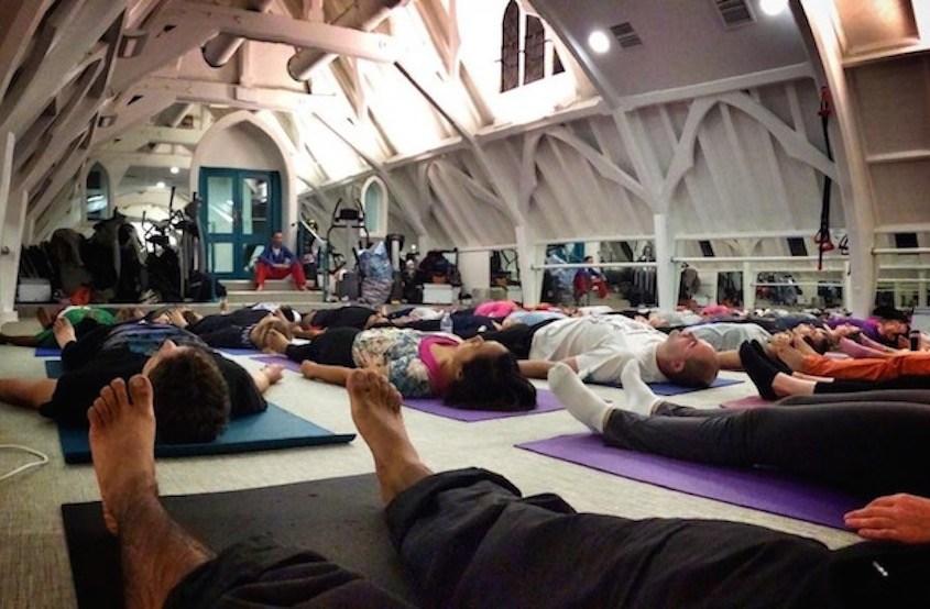 Dru Yoga deep relaxation with Richard Brook