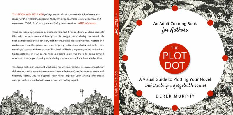 The Plot Dot (a visual guide to plotting fiction and writing
