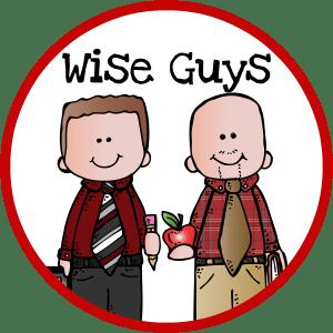 Wise Guys logo red circle
