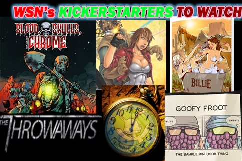Time to Get off the Bench and Pick the Indie Comics you want to Produce!!