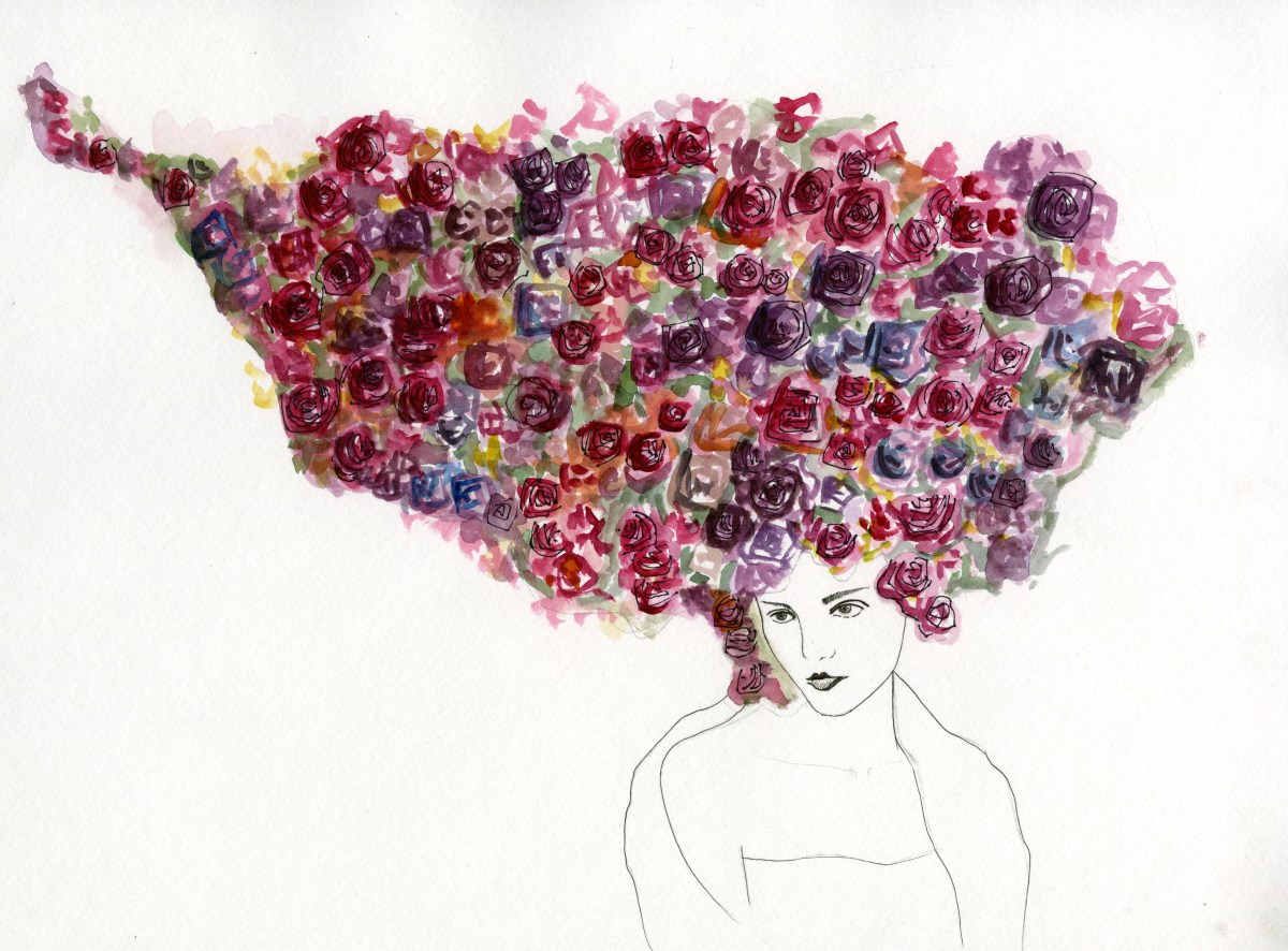 Her Hair is a Bed of Roses; 2010