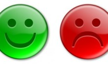 Happy & Sad Emoticon Buttons
