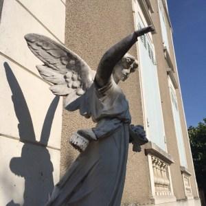 De engel van Chateau de Préty