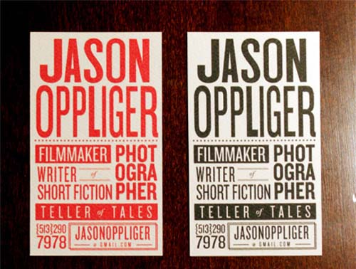 42 Cartões de Visita para Inspiração u2013 Criatives Criatividade - typography flyer