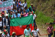 Conmemoración 45 años del Consejo Regional Indígena del Cauca CRIC
