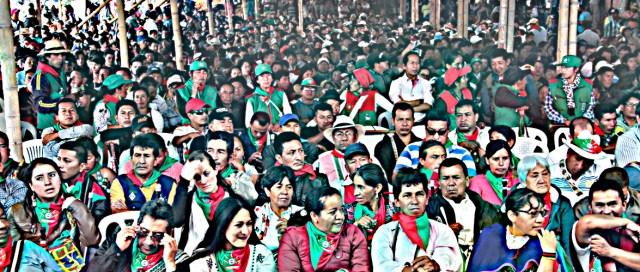 Personas, Autoridades Tradicionales del Cauca - Evento Diálogos la María Piendamó, Cauca Colombia Copyright Comunicaciones CRIC 2016