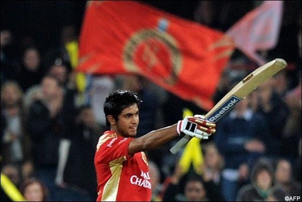 Manish Pandey became the first Indian to score an IPL Hundred when he scored an unbeaten 114 off 73 balls against DC in 2009