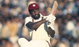 Fastest Test Hundred by Viv Richards.