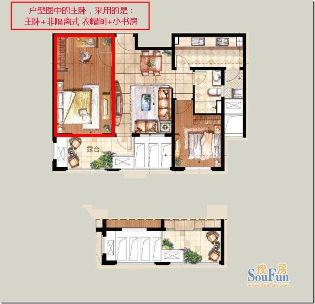 90 square meter house structure