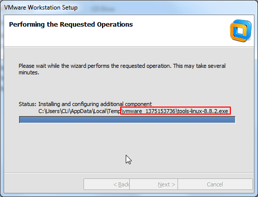 vmware tools-linux exe