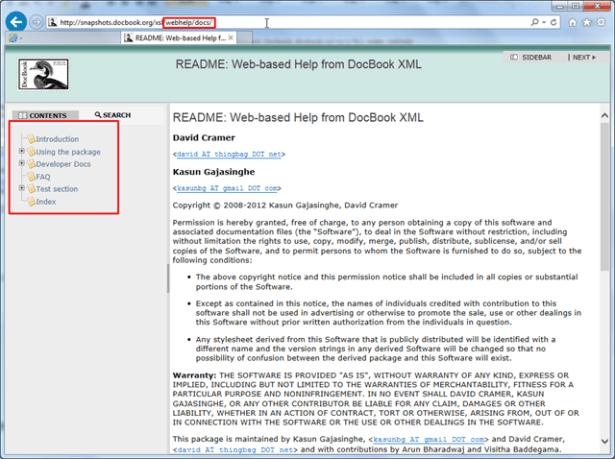 docbook snapshot firefox can show webhelp_thumb