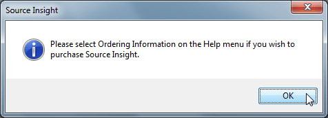 please select ordering infomation on help for si