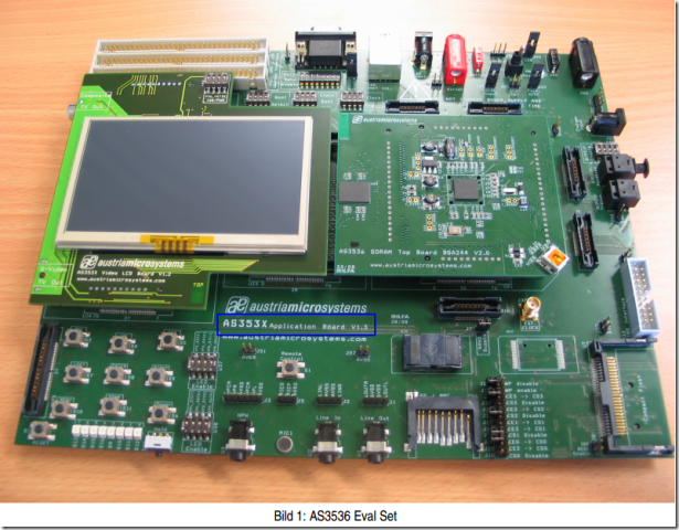 as353x application board eye view