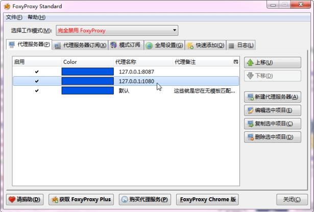 added 1080 port of local shadowsocks server
