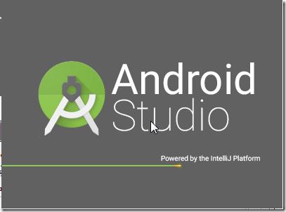 android stuio launch power by intellij