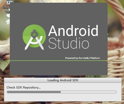 loading android sdk check sdk repository