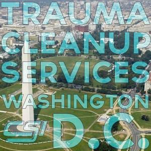 Washington DC Trauma Cleaning
