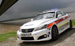 Lexus IS-F Police Edition