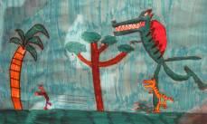 37 disegno sulla paura dei mostri