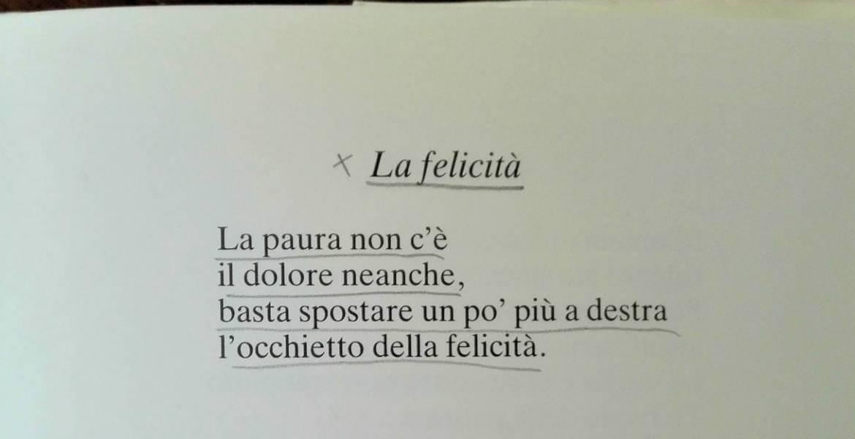 La felicità poesia