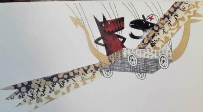 Lupo e pecora volano