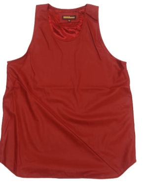 D9 RESERVE LEATHERETTE TANK TOP
