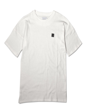 KING APPAREL Tunmarsh Oversized Midline Tee - White