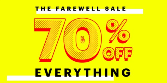 JackThreads Closing Down Sale