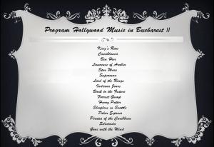 Program HMB II