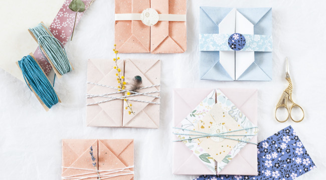 Making an origami envelope Cristina Colli