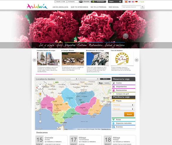 La Comunidad Turística de Andalucía incorpora un planificador de