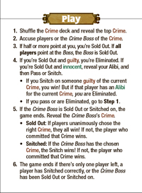 Quick Rules Reference