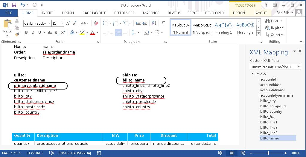 Free Download of CRM 2016 Documents Templates (Word Templates) - CRM