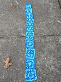2012 Special Olympics scarf project - Crochetbug