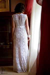 crocheted wedding dress patterns | crochet halter modified ...