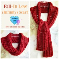 Fall-In Love (Infinity) Scarf Free Crochet Pattern ...