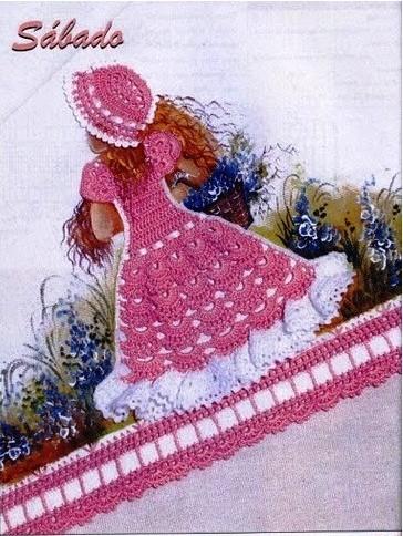 Crochet Doll Dress Applique Patterns ⋆ Crochet Kingdom