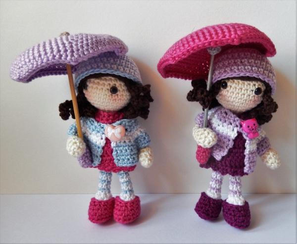Autumn Girls Free Crochet Doll Pattern ⋆ Crochet Kingdom
