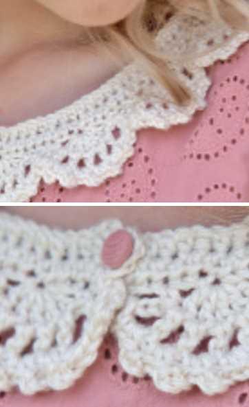 Crochet Collars ⋆ Crochet Kingdom (7 free crochet patterns)
