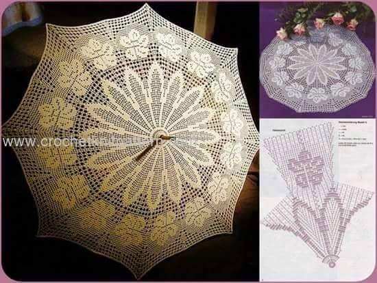 Crochet Umbrellas Beautiful Crochet Patterns And