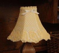 CROCHET PATTERNS LAMP SHADES | FREE CROCHET PATTERNS