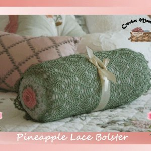 Pineapple Lace Bolster