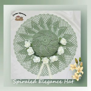 Spiraled Elegance Hat
