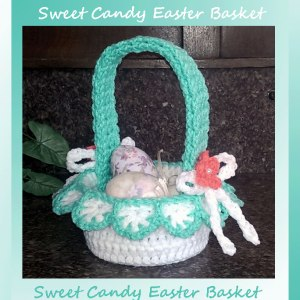 Sweet Candy Easter Basket