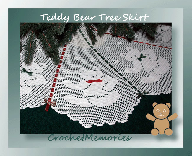 Teddy Bear Tree Skirt